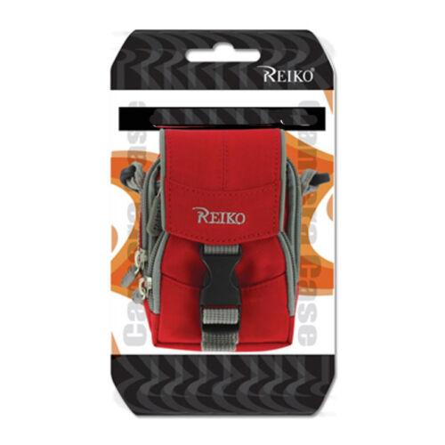 Shoulder Strap Neck Case Red fits LG 237c