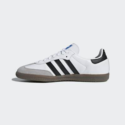 Junior Adidas Originals Samba OG White/Black Trainers (TGF42) RRP £69.99
