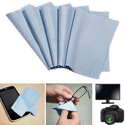 5er-Set Microfaser Brillenputztuch Brillentuch Optiker/Kamera-/Linsen/Handy-Tuch