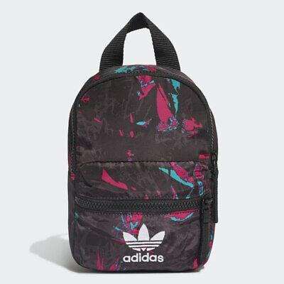Adidas Trefoil Mini Backpack Multicolor Rucksack Phone/Keys/Water Bottle Bag