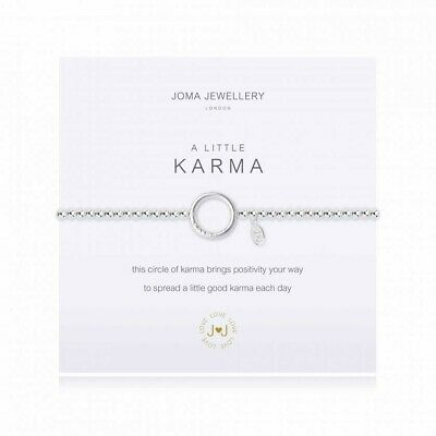 Joma Jewellery A Little ~KARMA~Bracelet New With Gift Bag