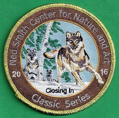 "Pa Pennsylvania Game Fish Commission Ned Smith 2016 ""Closing In"" Coyote Patch"