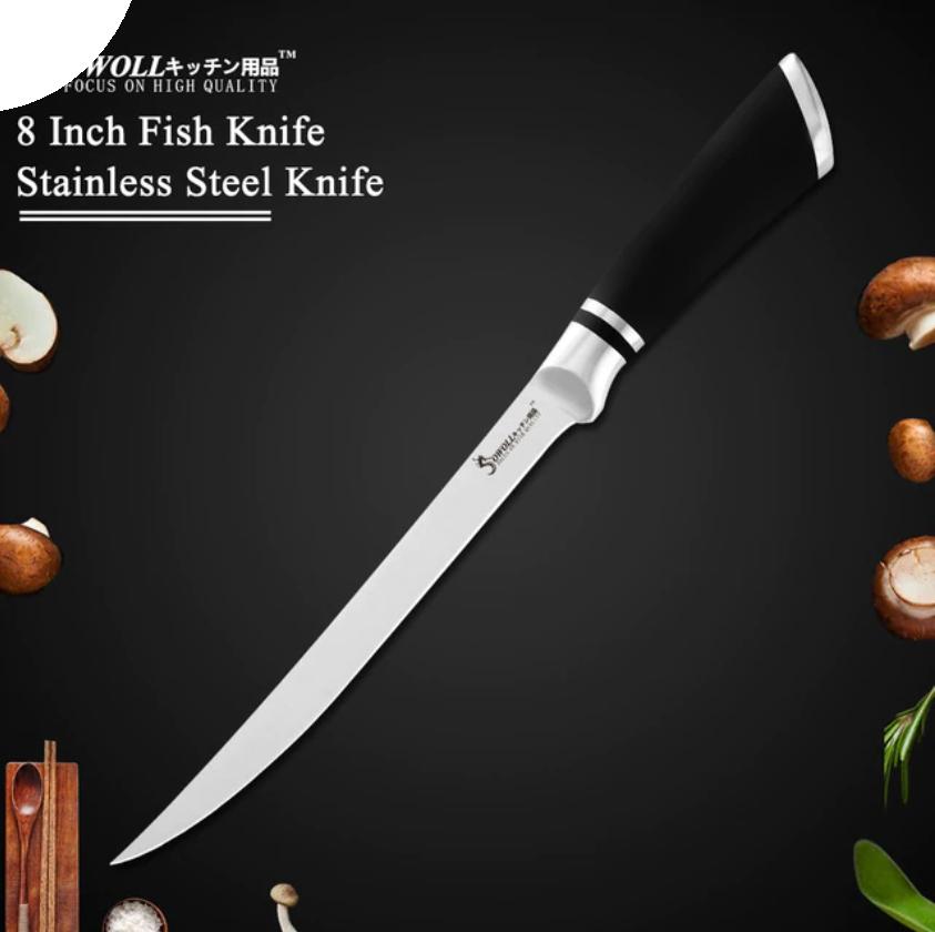 kitchen knife knives cook set with peeler