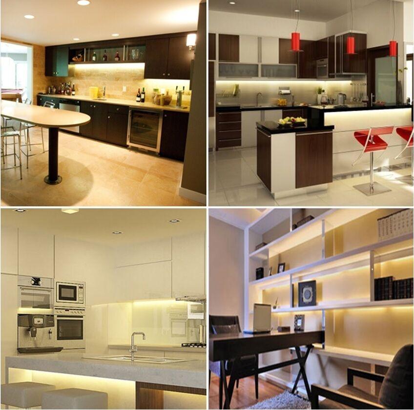 30cm Kitchen Under Cabinet Cupboard Shelf Counter Led: 4 X 30cm Plug In LED Under Kitchen Cupboard Cabinet Strip