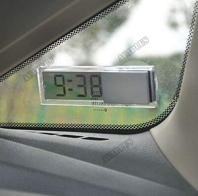 Osculum Type Vehicle Mounted Digital  Celsius Fahrenheit Thermometer With Lcd