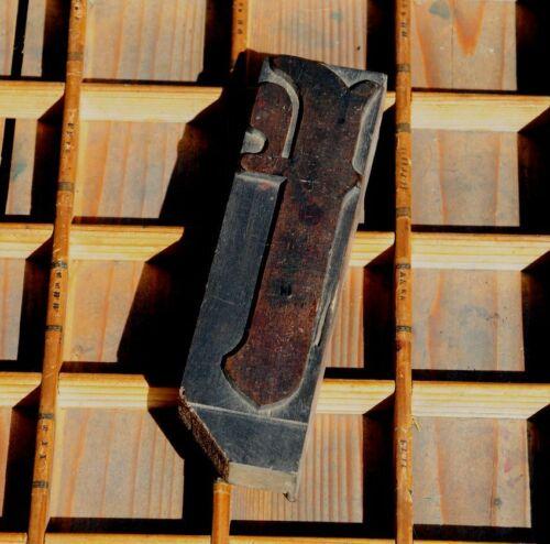 """HUGE """"k"""" blackletter 7.09"""" handcarved woodtype printing block letterpress print"""