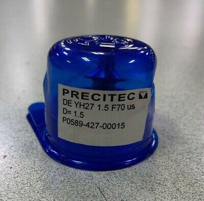 Precitec De Yh27 1.5 F70 Us Nozzles P0589-427-00015 Lot Of 5