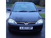 Vauxhall Corsa 2003
