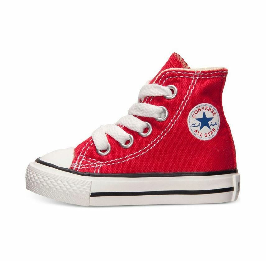 Converse Infant & Toddler's CHUCK TAYLOR ALL STAR HI Shoes Red 7J232 c