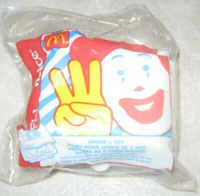1998 Fisher Price McDonalds Happy Meal Under 3 Toy - McNuggets