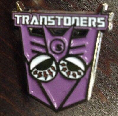 SeedleSs Transformers TRANS-STONERS Lapel Hat Pin DABCEPTICON Marijuana Cannabis