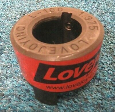 Log Splitter Pump Lovejoy Inc L-100 1.000 Shaft Coupler Body