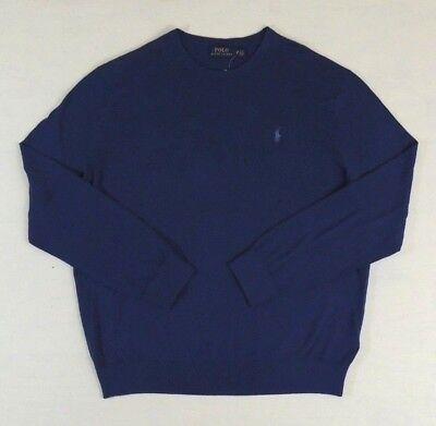 Classic Cashmere Crewneck Sweater (Polo Ralph Lauren Cashmere Cotton Crewneck Pony Classic Sweater Jumper Big)