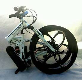 "Pedalese fusion foldable 26"" lfull size foldable mountain bike. 240 ono"