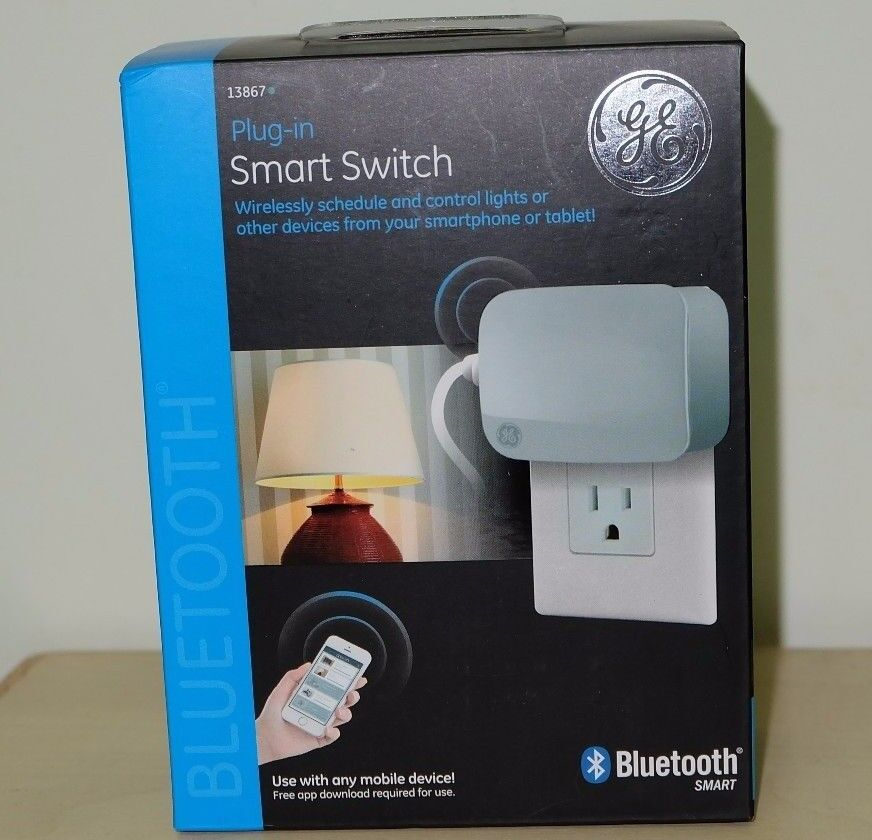 Brand New GE 13867  Bluetooth Plug In Smart Switch