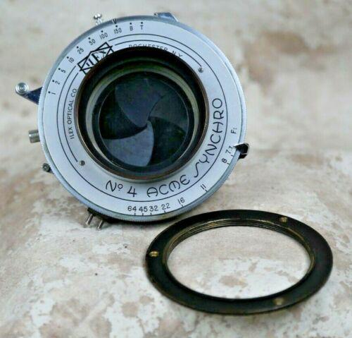 ILEX No. 4 ACME SYNCHRO Shutter with Lens Flange