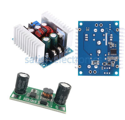 Dc 300w 20a Cc Cv Adjustable Step-down Voltage Buck Converter Constant Current F