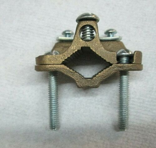 GROUND BRACKET PIPE CLAMP  SI 5949  NEW NEVER USED  FREE SHIPPING   GAR