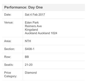 NRL Auckland Nines E-Tickets x 2 for 4th & 5th Feb Diamond Seats Emerald Central Highlands Preview