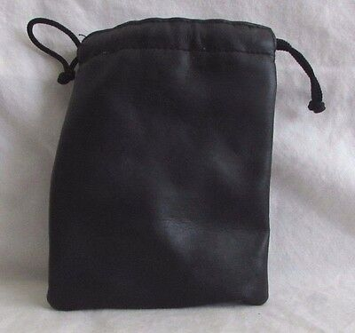 "Soft Lens Pouch Camera Case/Storage Bag: 3X3X5.5"" Drawstring"