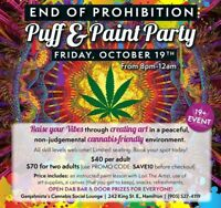 END OF PROHIBITION PUFF & PAINT PARTY