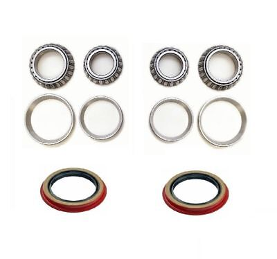 Ford Ranger Wheel Bearing - Front Wheel Bearing (2 Inner & 2 Outer) with Seal set for 95-11 FORD RANGER 2WD