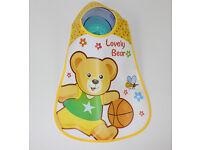 Baby Bibs Cartoon Plastic Made 2 Items