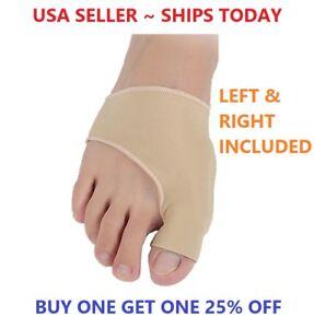 Big Toe Bunion Splint Straightener Corrector Foot Pain Relief Hallux Valgus Pair