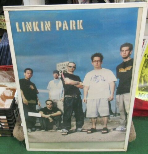 LINKIN PARK  POSTER NEW  2001 RARE VINTAGE COLLECTIBLE OOP LIVE
