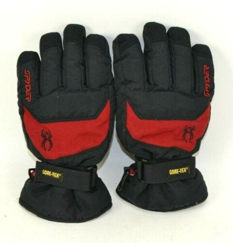 Spyder Kyds Gore Glove GORE-TEX Ski Winter Kids Gloves Size Large Black Red