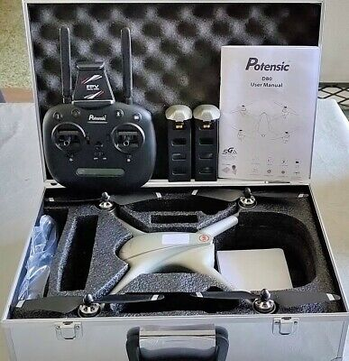 Drone Potensic D80 - Kit Complet (2 Batteries / 2 Chargeurs )...