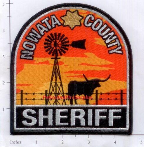 Oklahoma - Nowata County OK Police Dept Patch