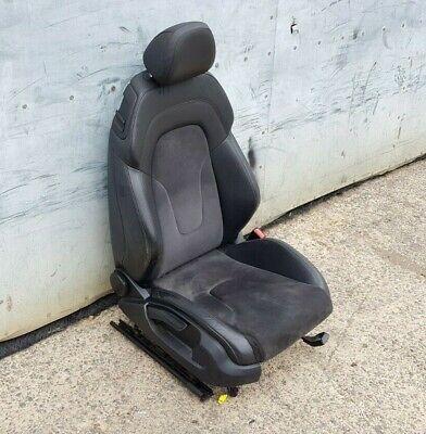 AUDI TT 8J MK2 Drivers Seat Half Leather Alcantara