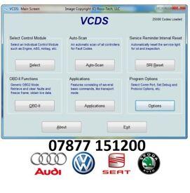 VCDS DIAGNOSTIC SCAN – VW, AUDI, SEAT, SKODA - TEESSIDE AREA
