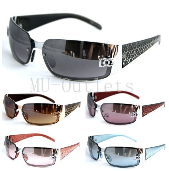 New DG Mens Womens Rectangular Rimless Designer Sunglasses Shades Eyewear(#5024) 1