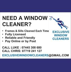 Reliable & Friendly Window Cleaners - Call for free Quote ( window cleaner , Window cleaning )