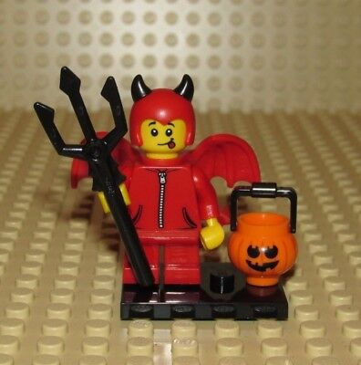 LEGO IMP DEVIL HALLOWEEN COSTUME  NEW OUT OF PACKAGE SERIES 16 minifigure