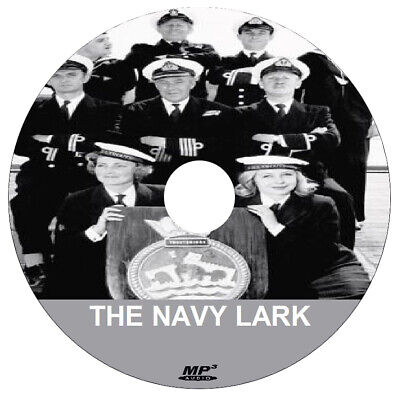THE NAVY LARK (1 x .mp3 DVD) - COMPLETE COLLECTION + FREE DISC BURNING SOFTWARE for sale  Newcastle upon Tyne