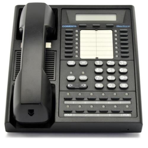 Fully Refurbished Comdial Digitech 7700s Speaker Display Phone (black)