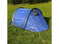 CAMPING PACK (tent, sleeping bags, mats and lantern)