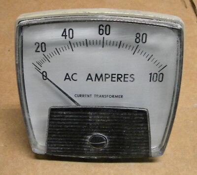 Yokogawa 250340lspk7 Panel Meter 0-100 Ac Amperes