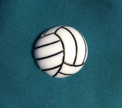 Cute VOLLEYBALL Volley Balls Women Sports Team Holey Clog Shoe Charms](Volleyball Charm)