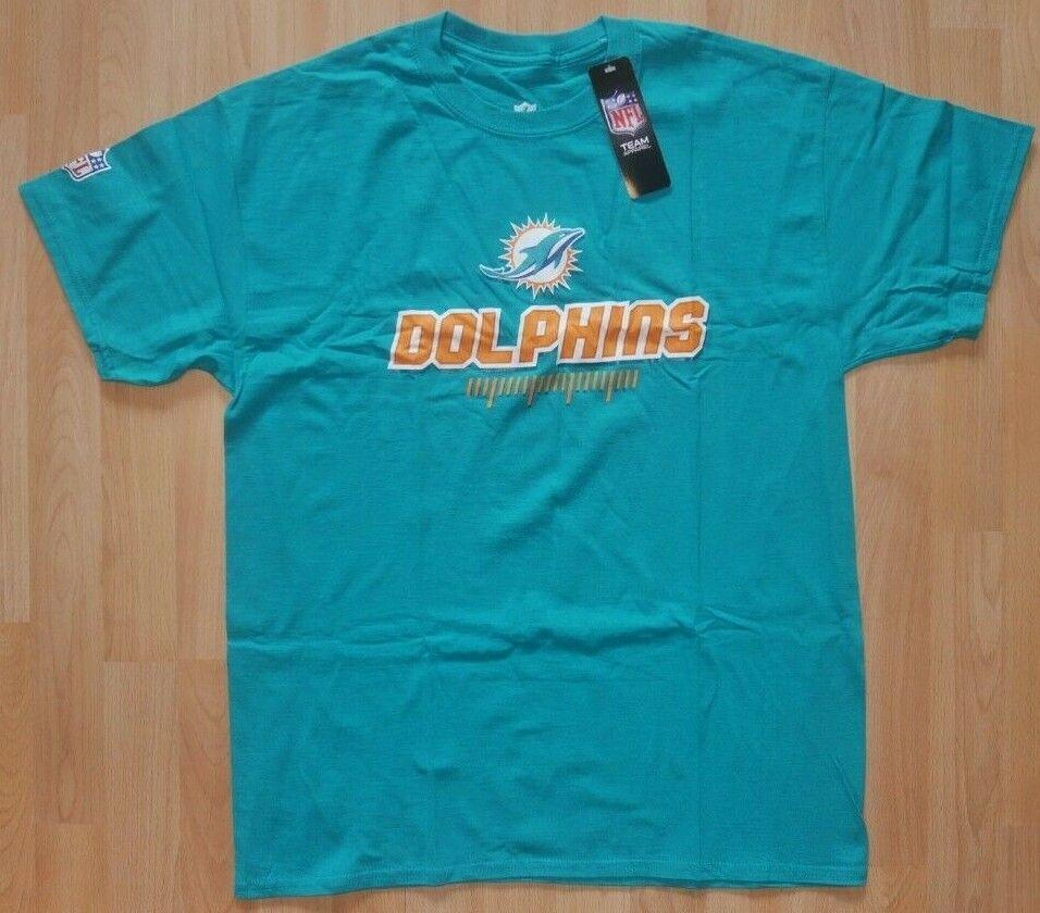 NEU/OVP: NFL MIAMI DOLPHINS FANWEAR TEE T-SHIRT! Gr.: L!  Farbe. GRÜN