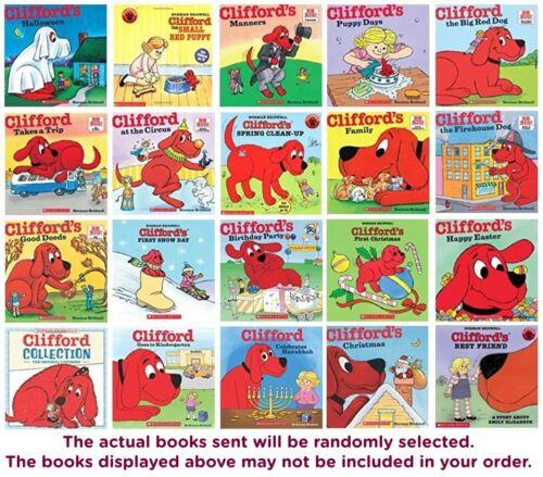 Five-pack Bundle Lot - Clifford The Big Red Dog Children