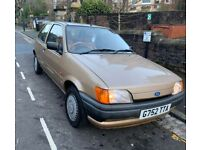 Ford, FIESTA, Hatchback, 1990, Other, 1118 (cc), 3 doors