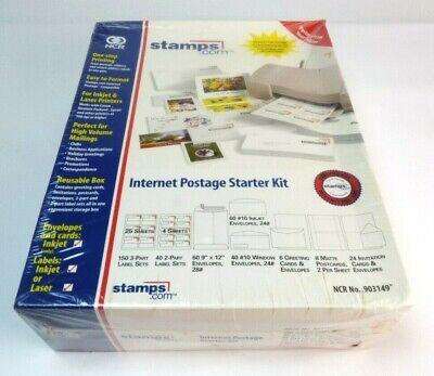 Brand New Stamps. Com Internet Postage Starter Business Variety Kit 903149
