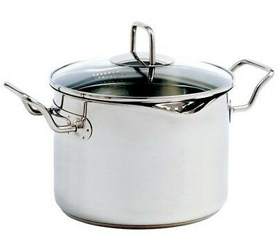 Norpro Krona 660 Vented Cooking Stock Pasta Pot With Straining Lid 7.5 Quart on Sale