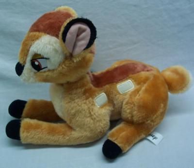 "Walt Disney NICE BAMBI FAWN DEER 11"" Plush Stuffed Animal Toy"
