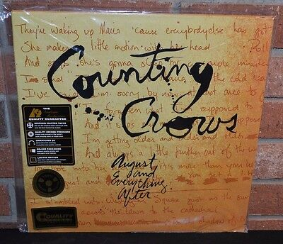 COUNTING CROWS - August & Everything After, LTD 2XLP 200 GRAM VINYL 45 RPM, New!