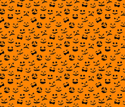 Pumpkin Face Htv Heat Transfer Vinyl Halloween Printed Shirt Craft Sheet 14 X 12